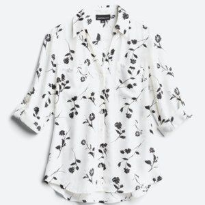 FORTUNE + IVY Christelle Button Down Blouse